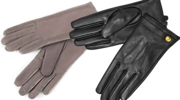 female leather gloves