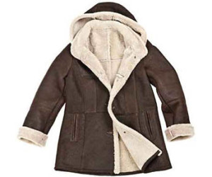 Sheepskin winter coat