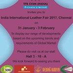 We will be participating in IILF 2017